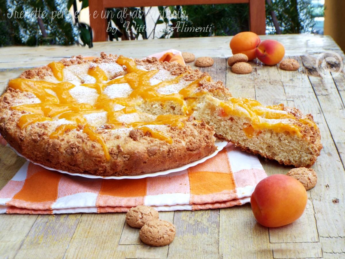 Crostata morbida con amaretti