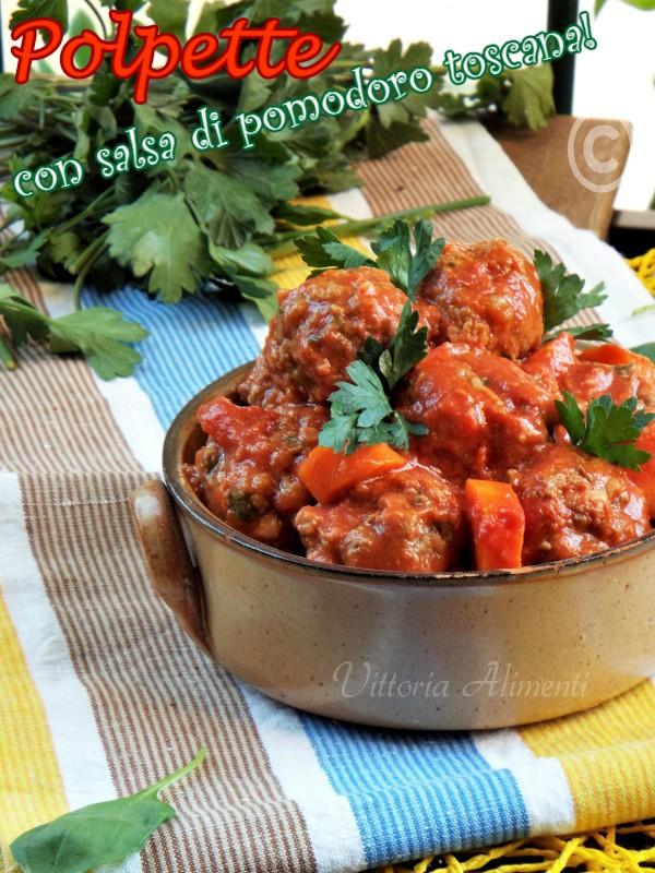 Polpette con salsa