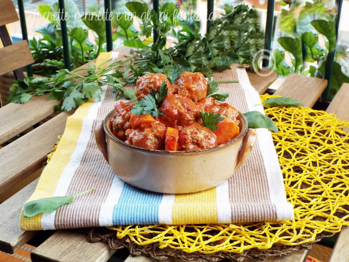 Polpette salsa di pomodoro toscana