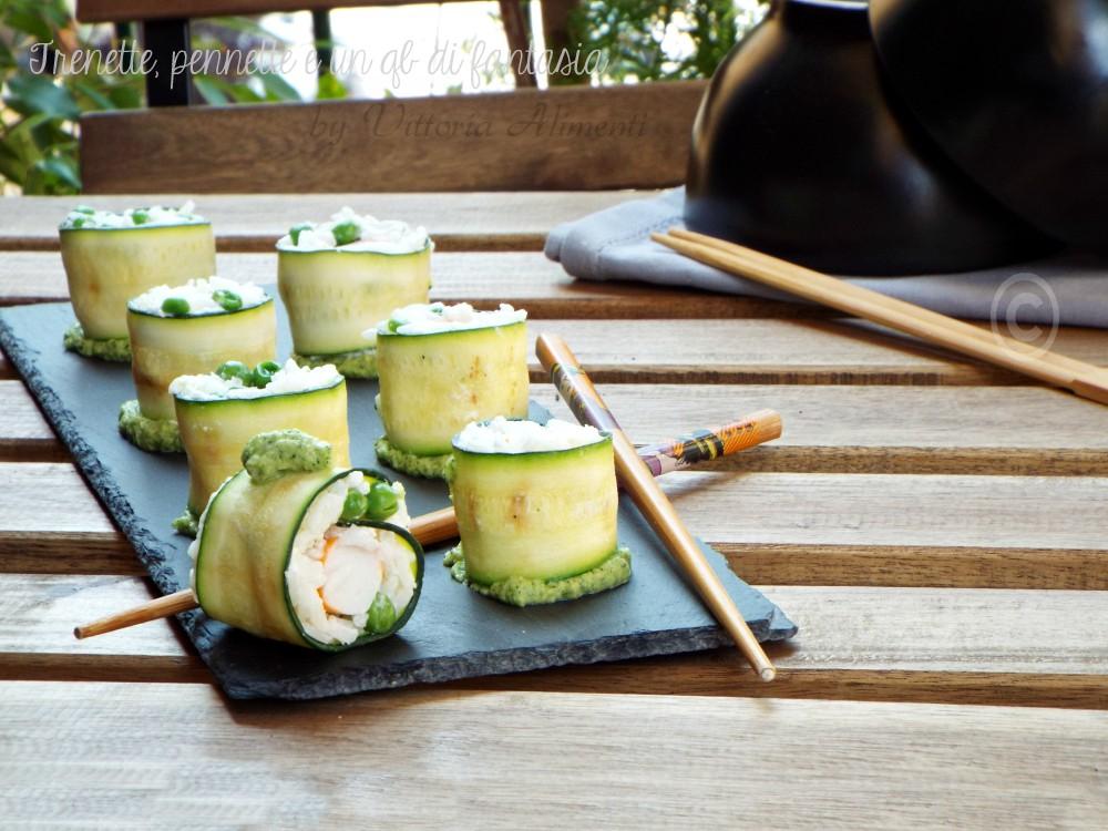 Sushi e polpa di granchio