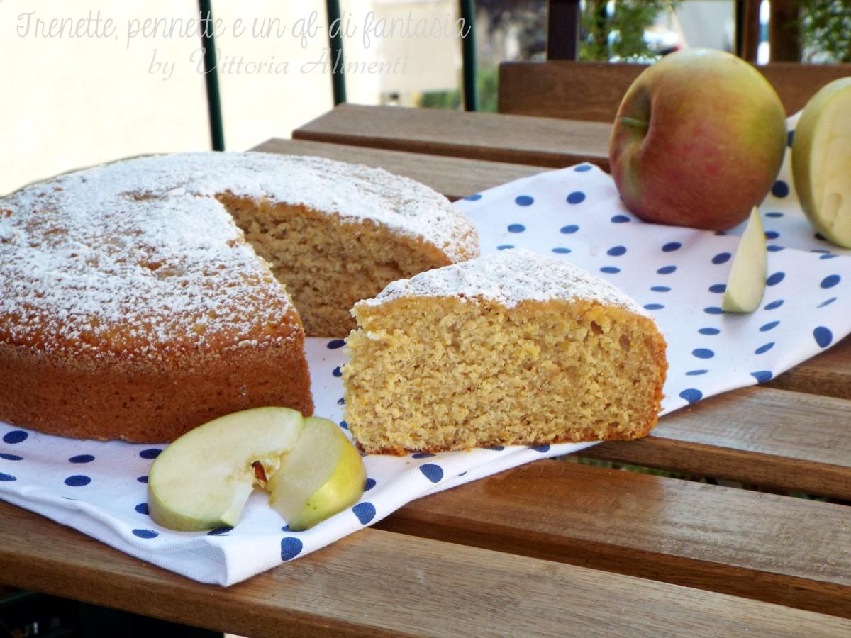 Pan di arancio e mela