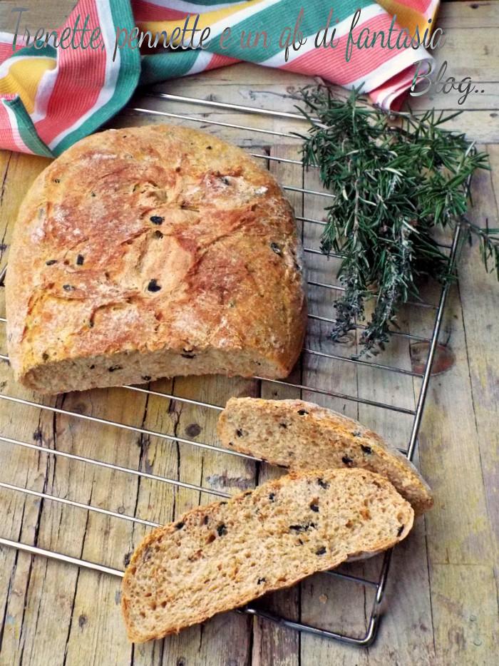 Pane zucca con olive
