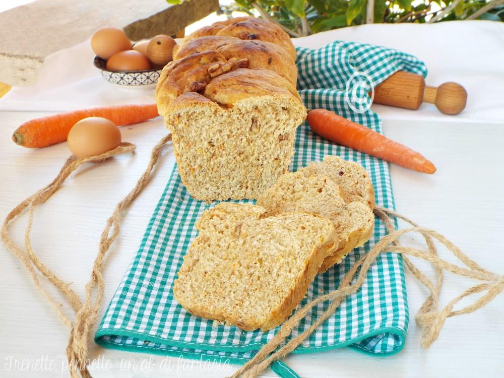Pan brioche carote