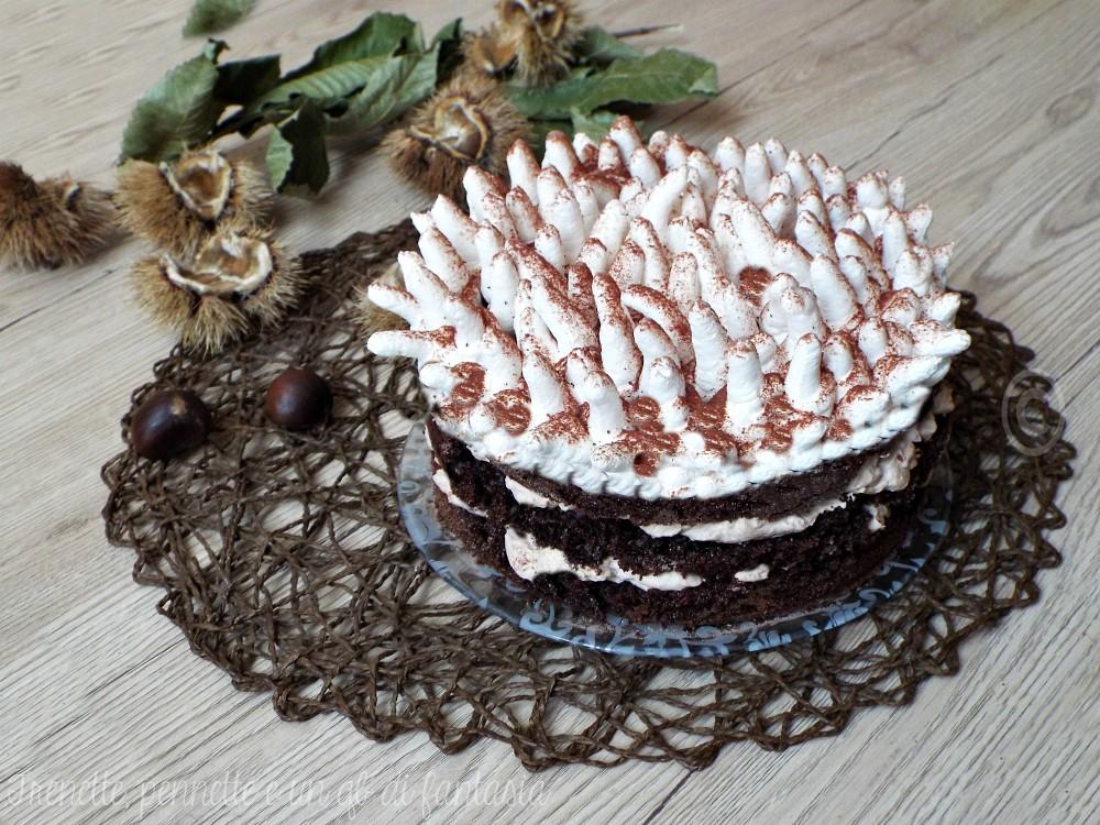 Torta Anemone con crema