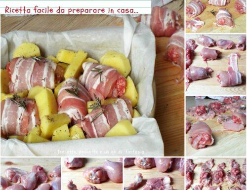 Involtini di pollo ripieni come prepararli!!
