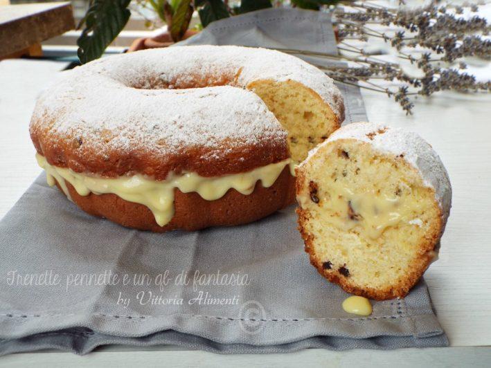 Ciambella al Bergamotto con crema