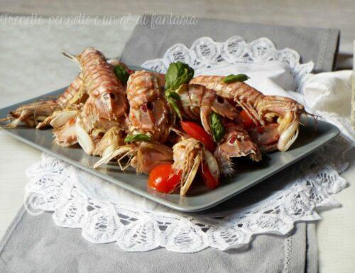 Pannocchie all'aglio, olio e peperoncino