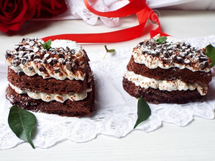 Heart-cake al profumo