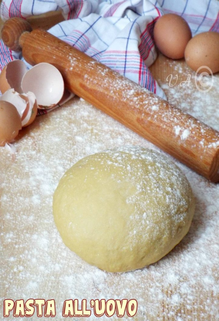 Pasta all'uovo ricetta base
