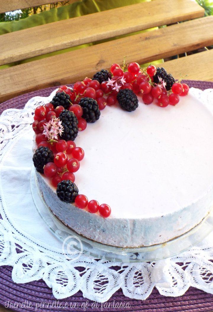 Cheesecake allo yogurt e frutti