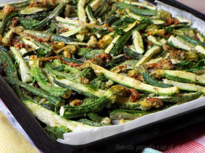 Zucchine baby gratinate