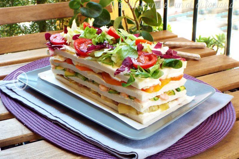 Torta salata di pancarrè