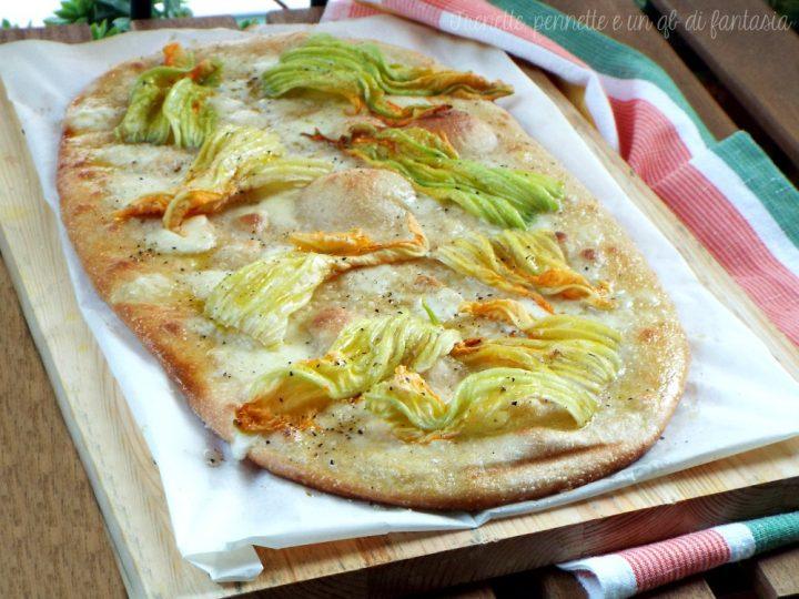 Pizza bianca stracchino