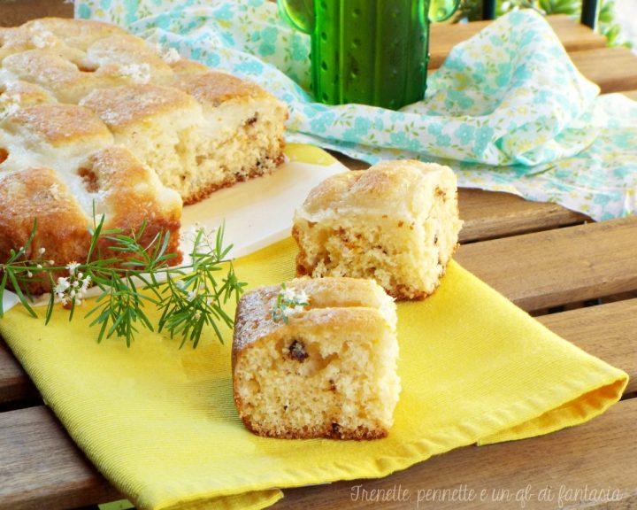 Torta piumino con crema