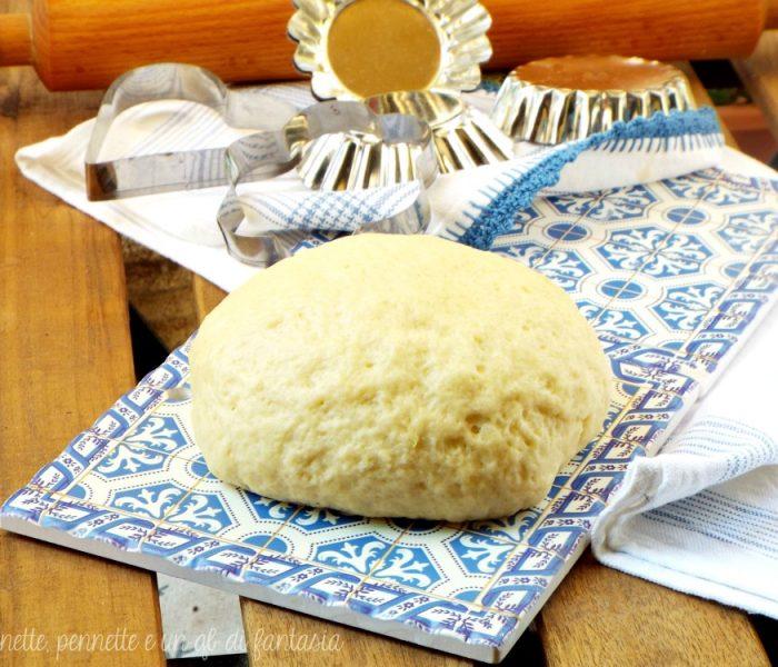 Pasta frolla all'acqua..senza uova e burro!