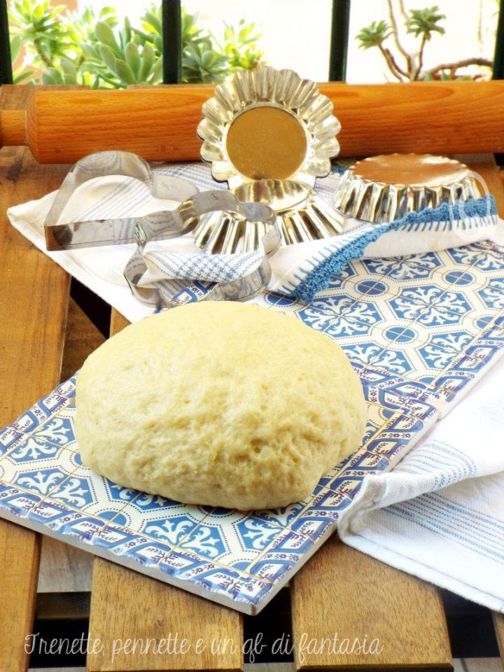 Pasta frolla senza uova e burro