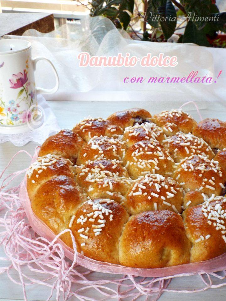 Danubio dolce con marmellata