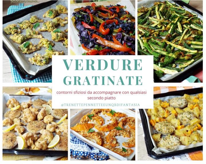 Verdure gratinate al