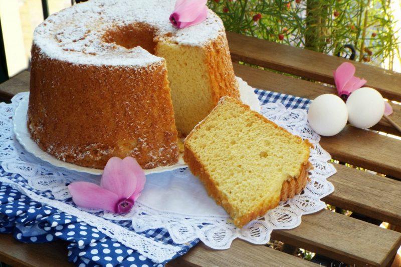 Chiffon cake con succo Ace