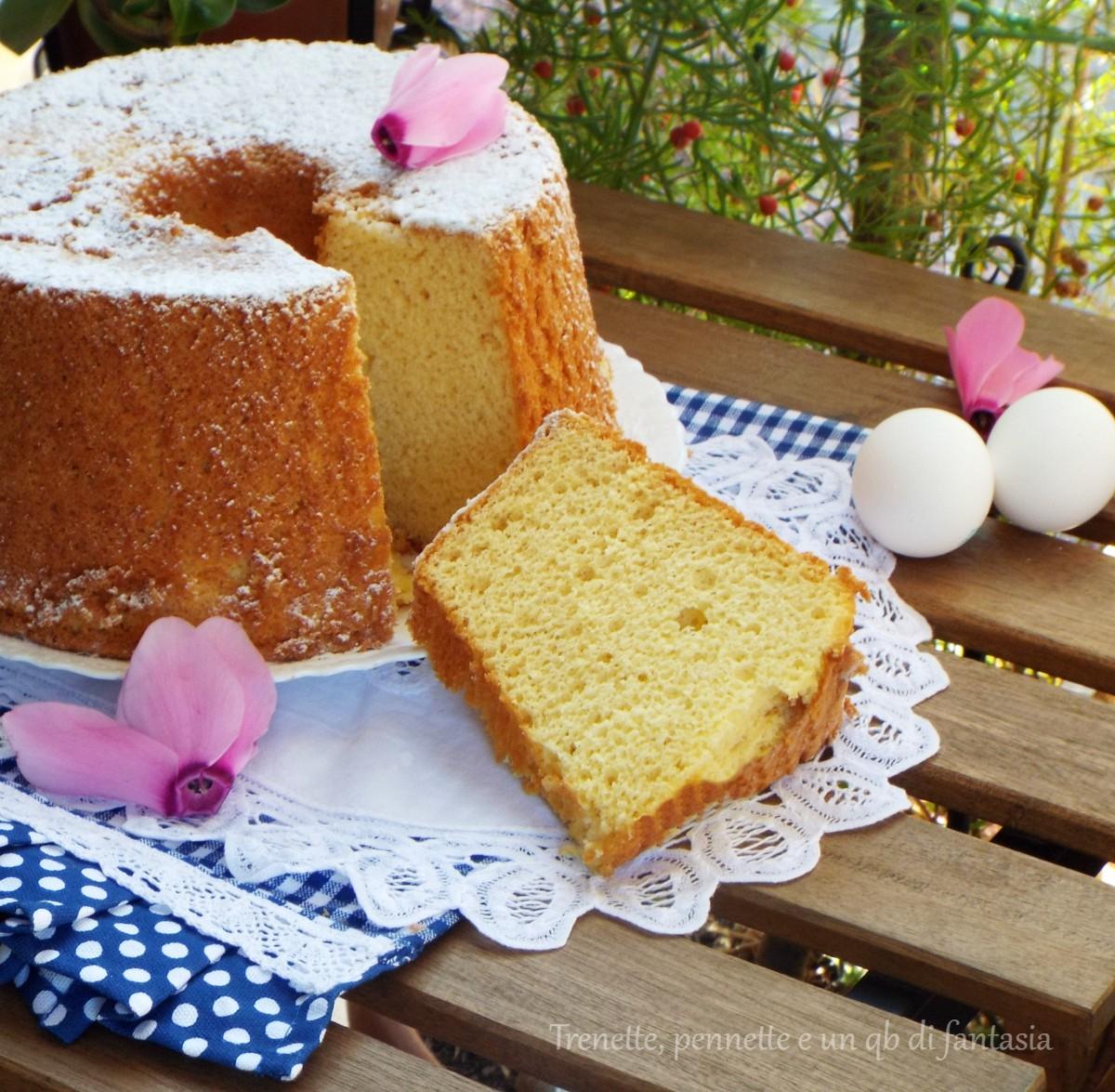 Chiffon cake con succo
