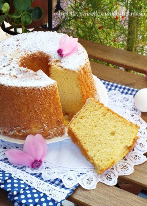 Chiffon cake con Ace