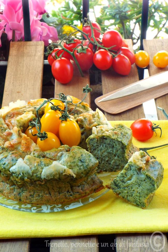 Ciambella salata con scamorza