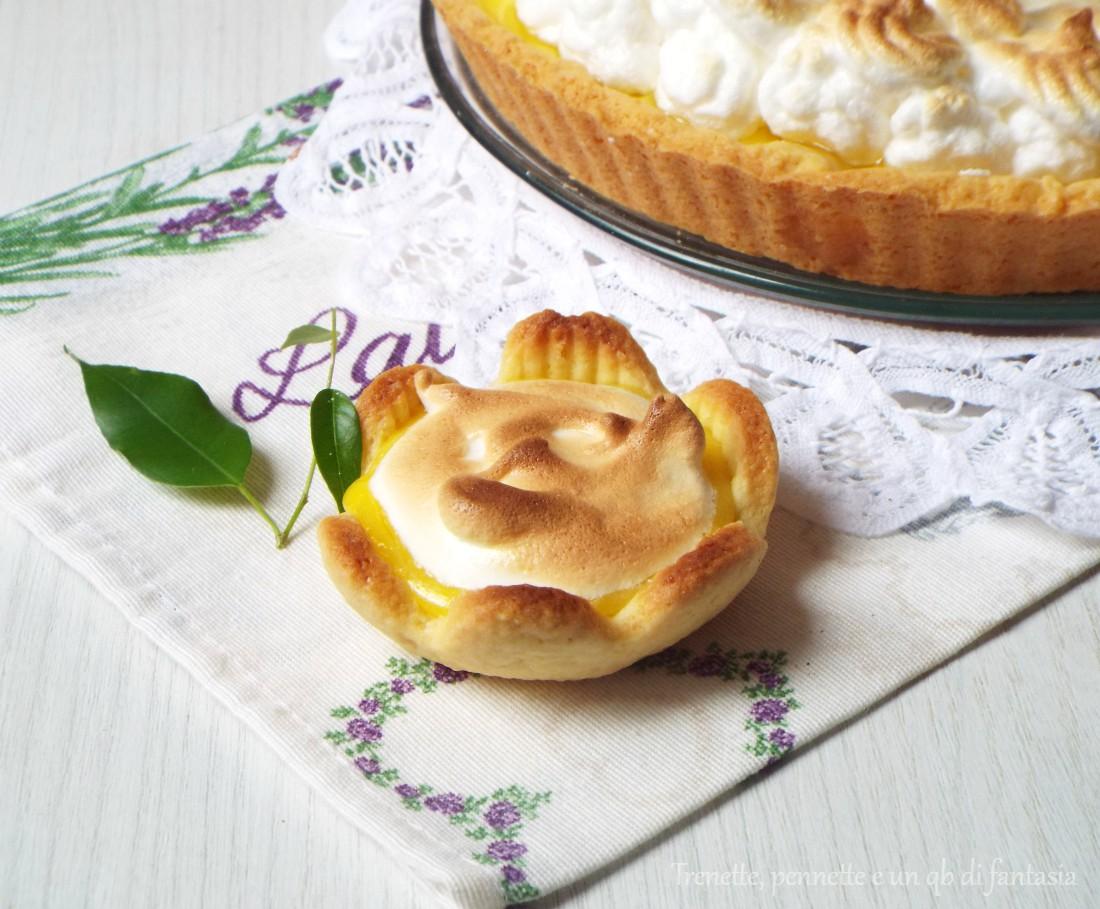 Tartelletta Lemon meringue pie