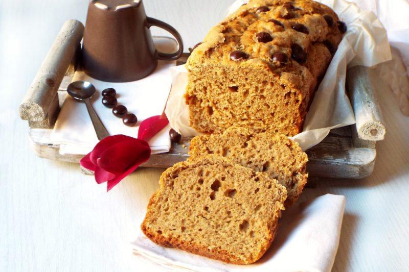 Plumcake ricotta e caffé
