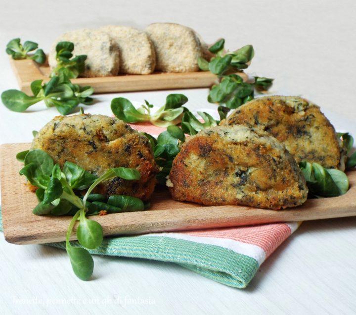 Mezzelune di patate e spinaci