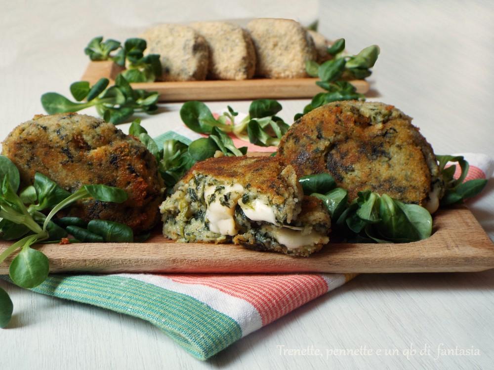 Mezzelune di spinaci