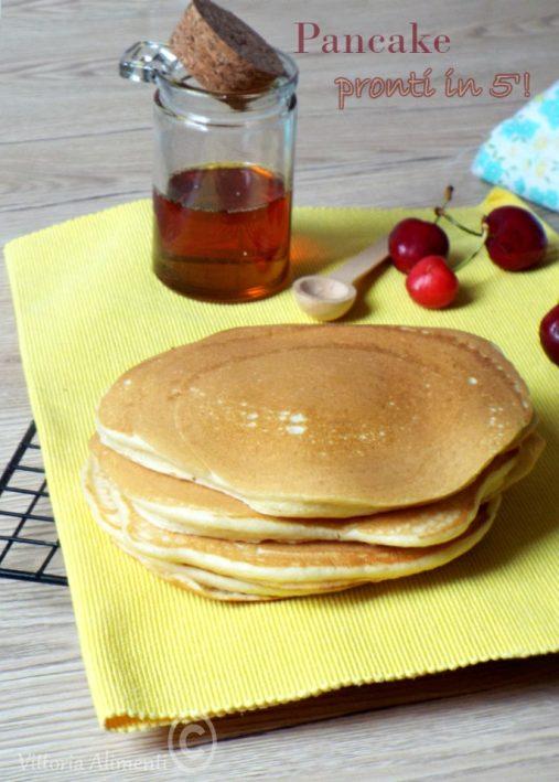 Pancake pronti in 5'