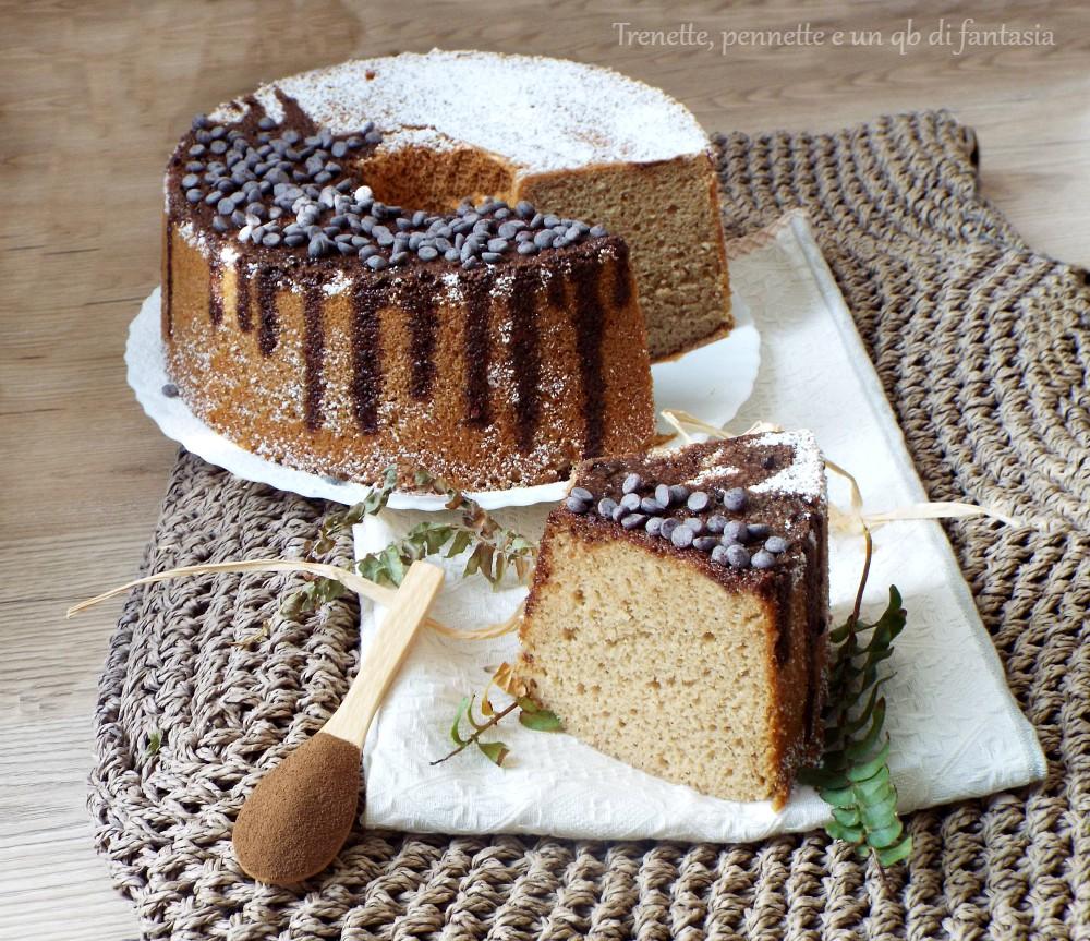 Chiffon cake all'orzo