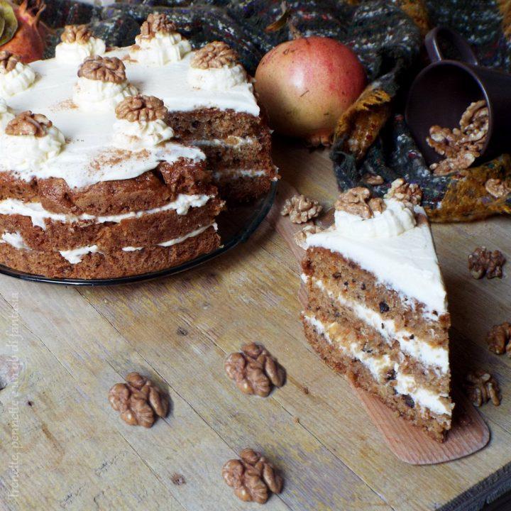 Carrot Cake con crema
