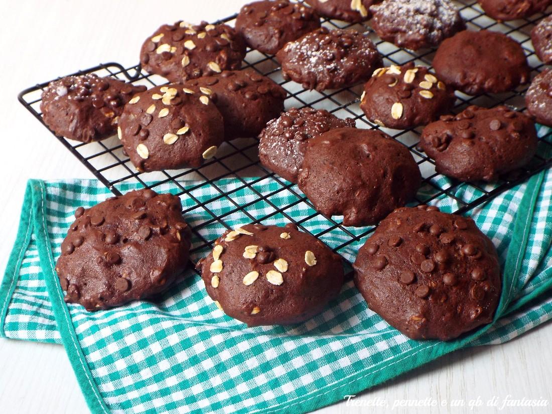 Biscotti alla pera con cacao