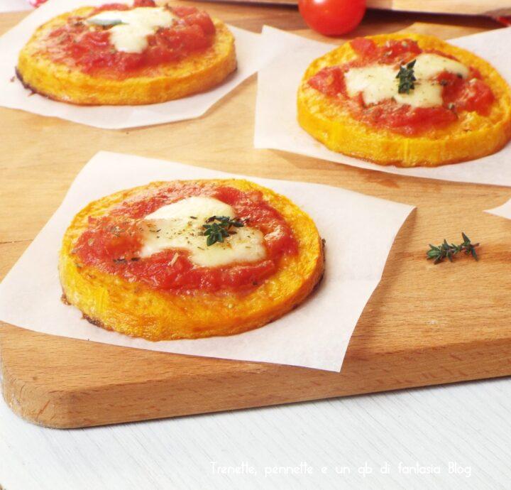 Pizzette di zucca