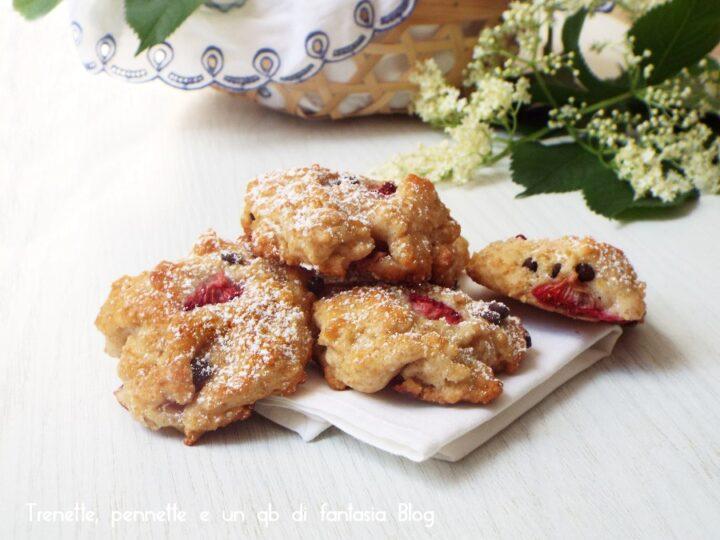 Biscotti morbidi fragole