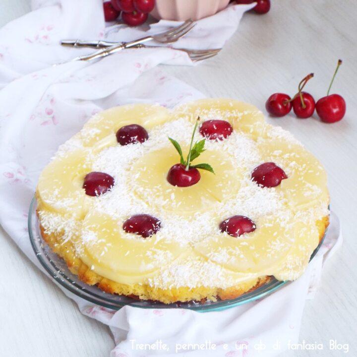 Torta in padella con marmellata
