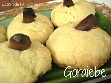 Goraiebe – Ricetta dolce egiziana