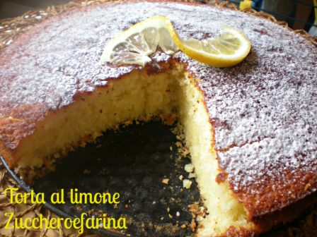 Torta Al Limone Senza Uova E Senza Burro Zuccheroefarina