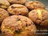 muffin ricotta e cioccolato 7